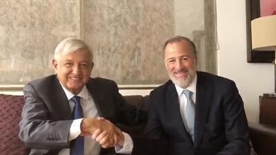 De los insultos a los halagos: López Obrador y Meade se reconcilian después de la campaña electoral en México