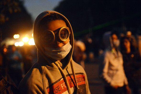 En El Cairo, miles de personas participaron en una marcha, convocada com...