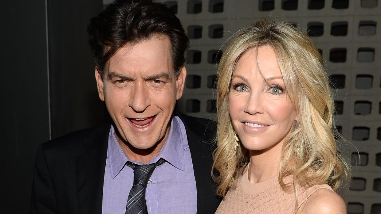 Charlie Sheen y Heather Locklear