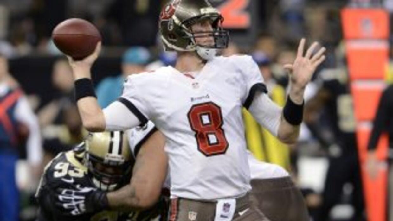 Mike Glennon sigue peleando por ser titular (AP-NFL).
