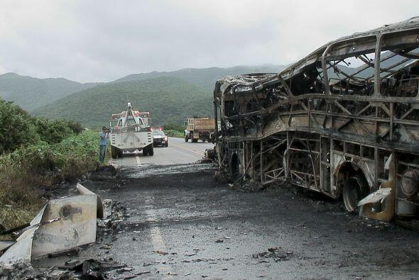 Trágico accidente en una carretera del suereño estado de Oaxaca.