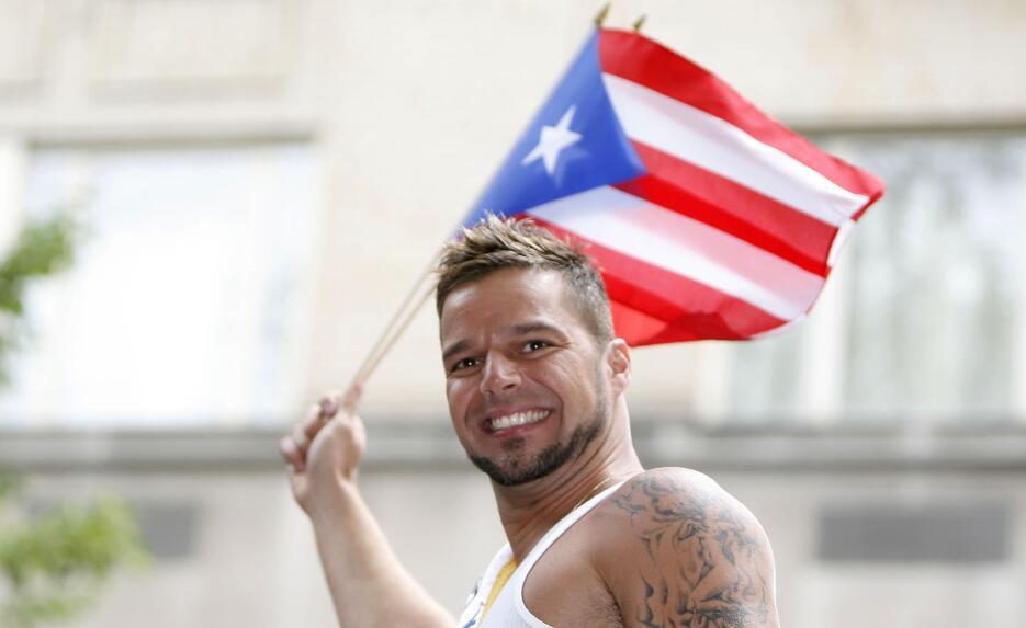 En el 2007, Ricky Martin prendió la fiesta boricua en la Quinta Avenida.