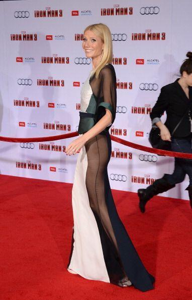 ¡Otra que no necesitó bragas para complementar su 'outfit' fue la actriz...