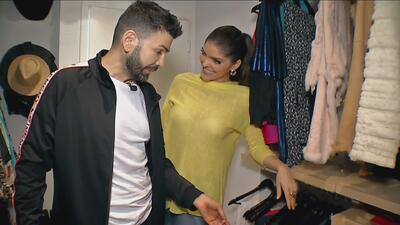 Jomari Goyso se mete al clóset de Ana Bárbara y revela los secretos que esconde su ropa