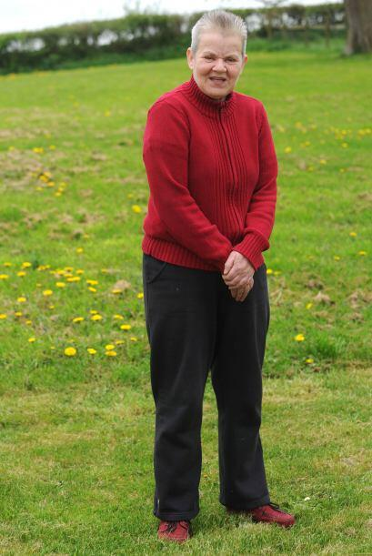Judy salvó la vida de su dueña Sharon Brooks por segunda vez, Sharon,  d...