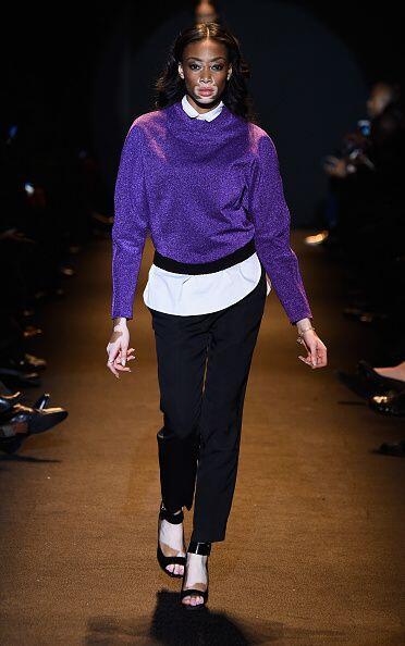 La pasarela se llevó a cabo en el Mercedes Benz Fashion Week de Nueva York.