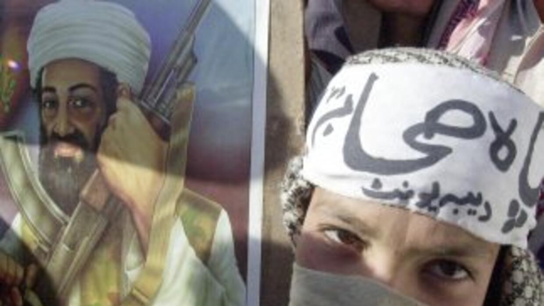 Osama Bin Laden, líder de Al Qaeda.