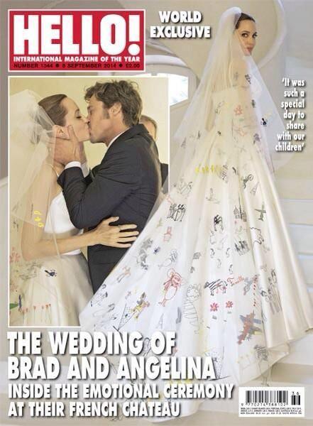 La revista Hello!, en Reino Unido, también tuvo la exclusiva de las imág...