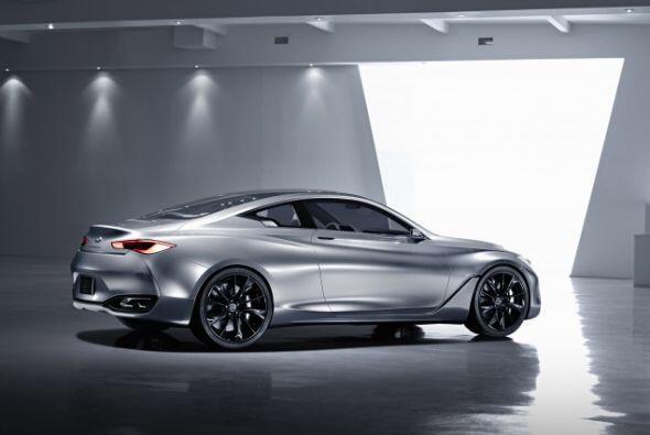 Infiniti Q60 Concept: Su mecánica está compuesta por un motor V6 de 3 li...