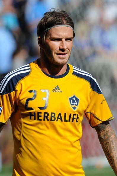 David Beckham también figura en el ránking y está posicionado como el #24.