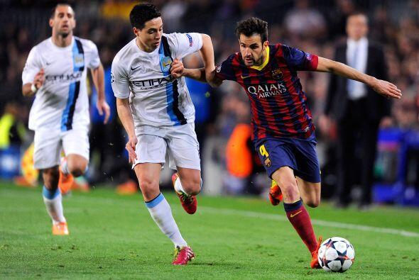 Otra pieza fundamental en el estilo de Barcelona, Cesc Fábregas no jugó...