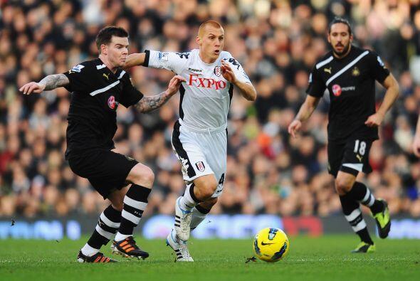 Pero en la segunda mitar el Fulham demostró que puede ser temible.
