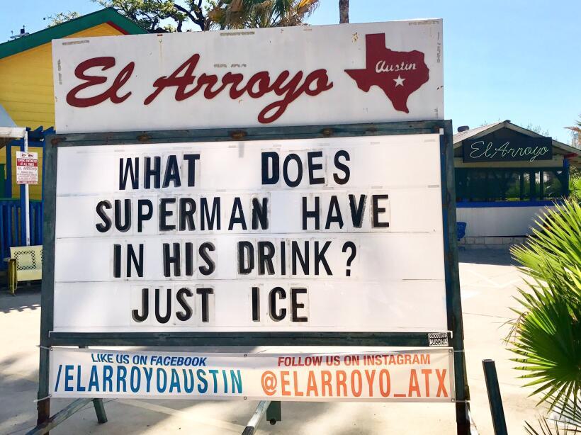 El restaurante El Arroyo en Austin se ha ganado a los usuarios de redes...