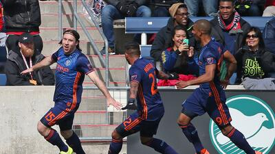 New York City FC derrota 4-3 a Chicago Fire y suma tres importantes puntos para el debut