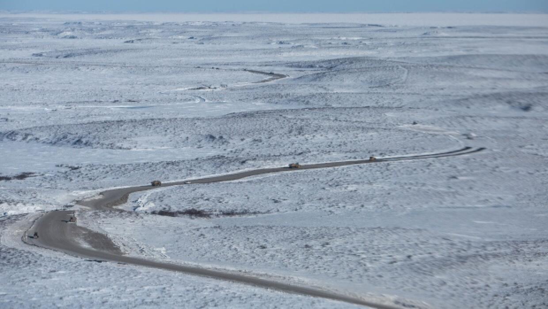 Hasta ahora solo era posible unir la costa del Océano Ártico con el rest...