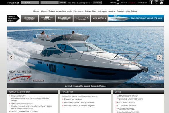 YATES/ AZIMUT- Esta empresa, formada en 1969 por Paolo Vitelli, actualme...