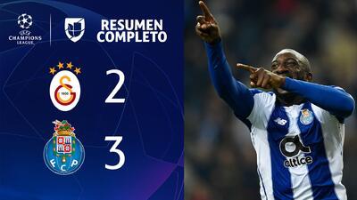 Galatasaray 2-3 Porto - GOLES Y RESUMEN - Grupo D - UEFA Champions League