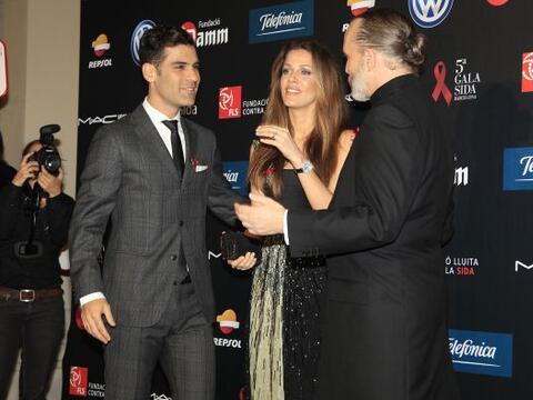 Jaydy Michel y Rafa Márquez acudieron a la Gala Sida, organizada...