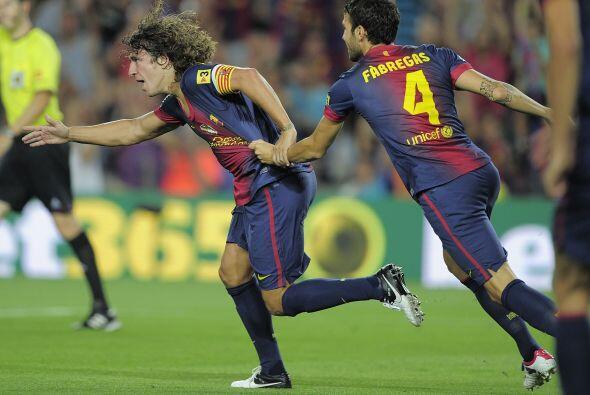 Defensa, Carles Puyol: El central del Barcelona regresó a la titularidad...