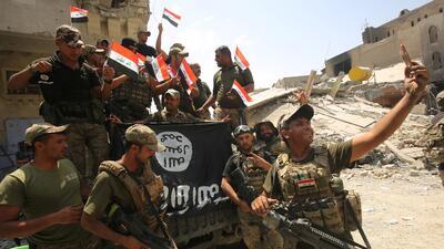 En fotos: Irak celebra la liberación de Mosul de manos de ISIS