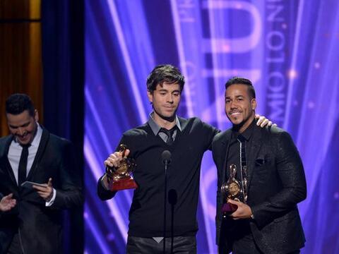 Enrique Iglesias y Romeo Santos fueron los máximos ganadores de l...
