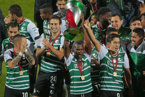 13. Santos Laguna de  México es el tercer equipo mexicano en aparecer co...
