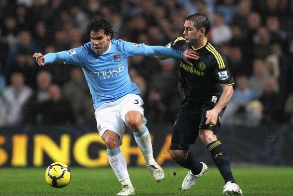 El partido más llamativo enfrentó al Manchester City y el...