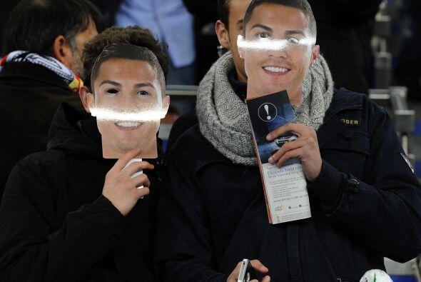 Y todo el Santiago Bernabéu lució el rostro de Cristiano.