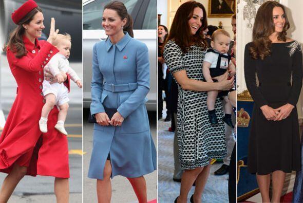 Estilo que usa, estilo que impone. Kate Middleton sigue siendo una de la...