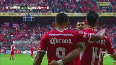 ¡Goool: ahora sí Vega! Toluca 3 – 1 Necaxa
