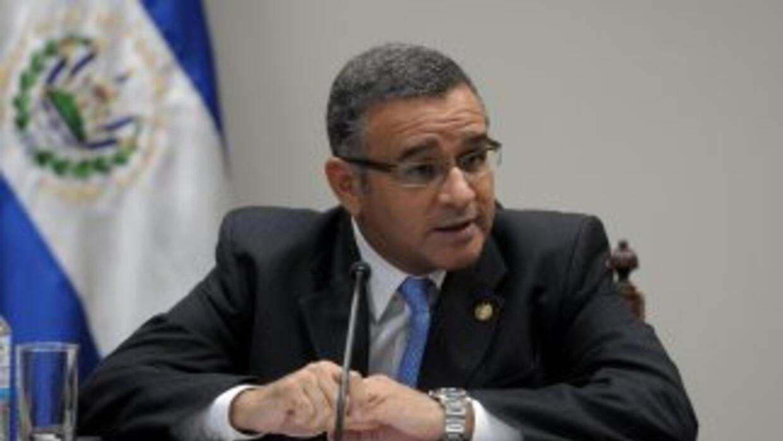 El presidente de El Salvador, Mauricio Funes.