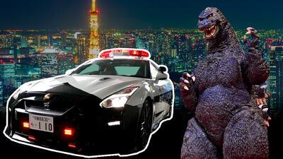 'Godzilla' se une a las filas del departamento de policía de Japón