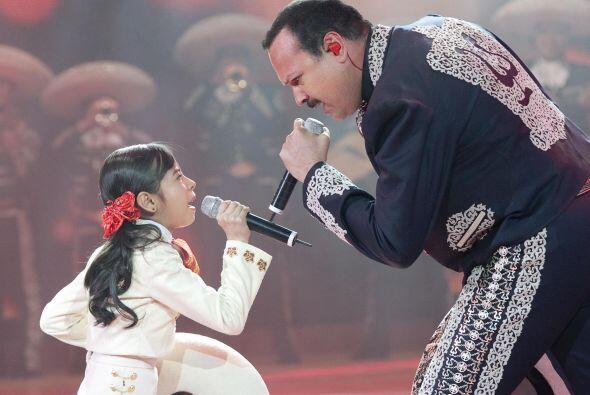 Pepe cantó con Magaby a quién reconoció como una gran intérprete y no du...