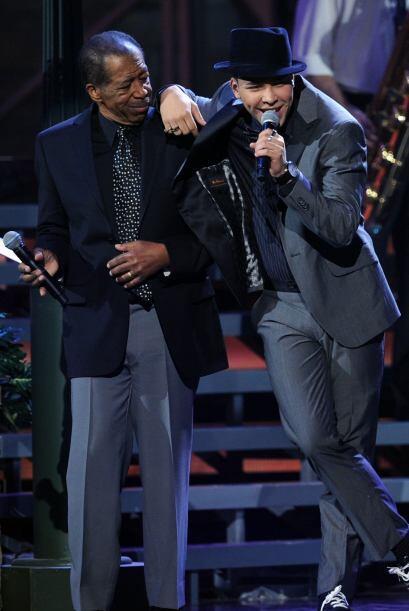 Prince Royce estaba feliz de poder cantar al lado de quien considera su...