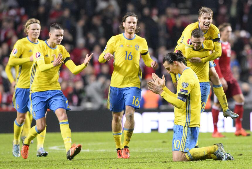 ¿Quién extraña  a Zlatan?, Suecia está a un paso de ir a Rusia 2018 sin...