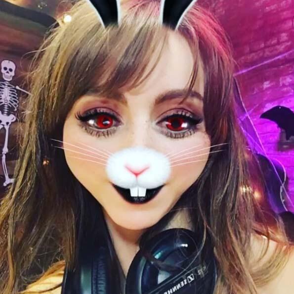 Halloween Snapchat Natalia Tellez