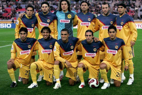 El representante de México, el América, consiguió el cuarto lugar tras c...