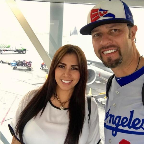 Ross Labra novia de Esteban Loaiza