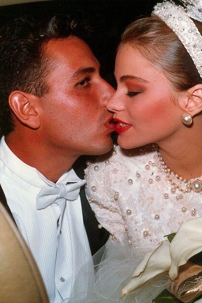 Sofía se casó a los 18 años con su primer amor, Joe González.