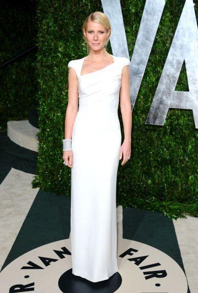 ¡Un 'look' muy elegante fue el que creó Tom Ford para Gwyneth con este v...