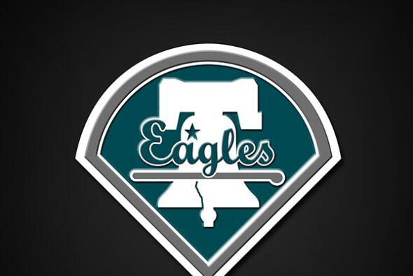 Philadelphia Eagles con los Phillies.