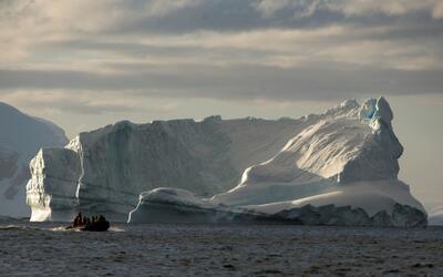 La mayoría de los barcos turísticos o científicos...