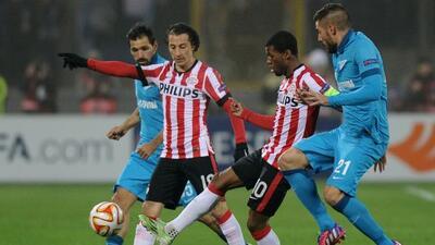 El volante mexicano disputó 80 minutos del partido ante el Zenit donde f...