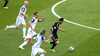 ¡Vigilancia vikinga! El duelo personal de Lionel Messi contra Islandia en el Mundial
