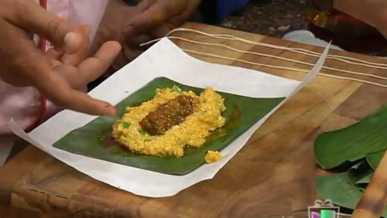 Pasteles de masa de camarón al estilo del chef Piñeiro directo desde Pue...