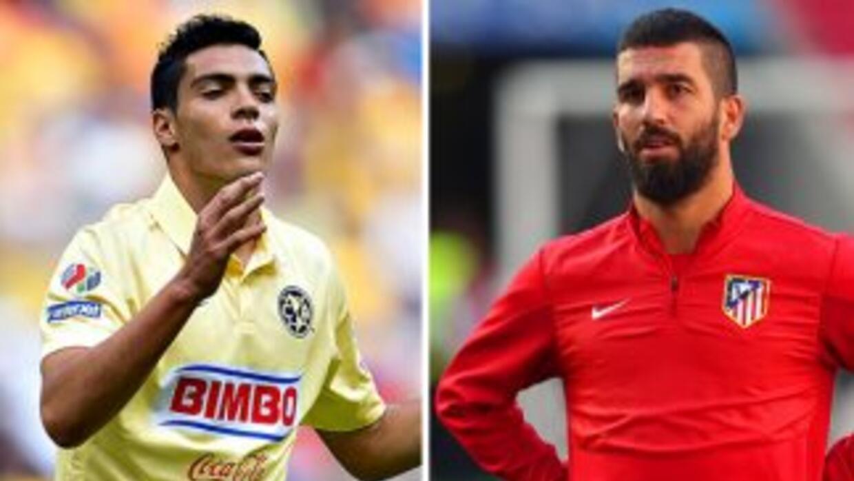 Raúl Jiménez y Arda Turán son dos referentes de América y Atlético de Ma...