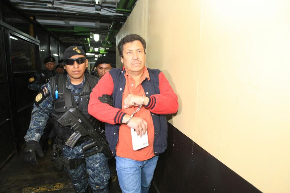Este miércoles 18 de enero también fue detenido y trasladado a tribunale...