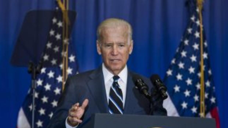 El vicepresidente Joe Biden, en una foto de archivo de abril de 2014.