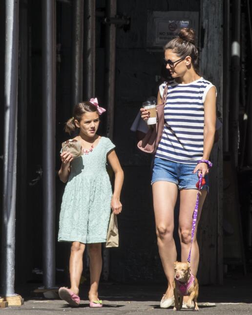 Mira cómo ha crecido la hija de Tom Cruise y Katie Holmes, Suri Cruise F...