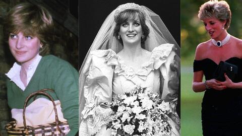 La princesas Diana fue tendencia por su imagen desde que comenzó...